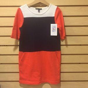 Sz 6-7 Sweater Dress